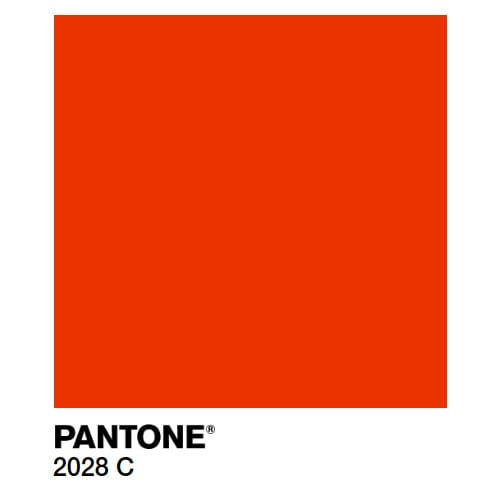 Краска Marabu PY Pantone 2028 С красная