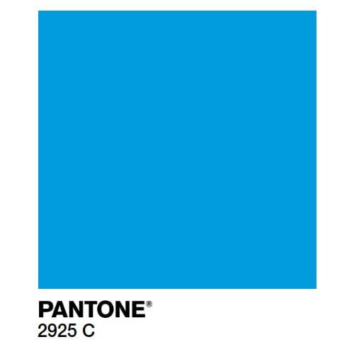 Краска Marabu PY Pantone 2925С голубая