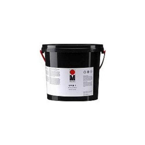 Трафаретный лак Marabu UVLB2 УФ-отверждения, рельефный, с эффектом осязания, 1 кг