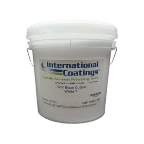Краска INTERNATIONAL COATINGS 7038 Cotton White, Пластизолевая, Белая, галлон