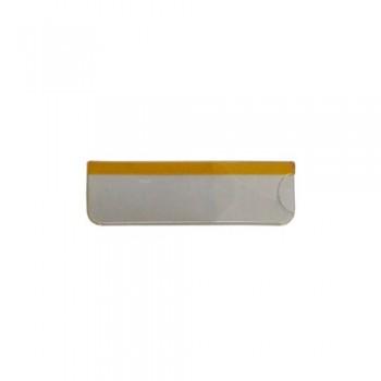 Карман прозрачный для бейджей с окном 76х51