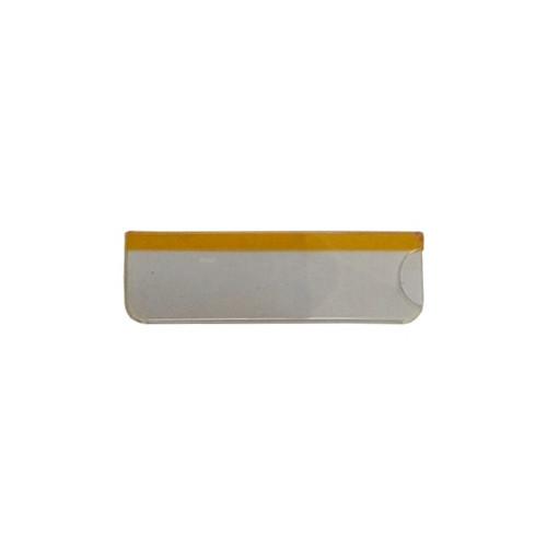 Карман для бейджей с окном, прозрачный, 76х51мм