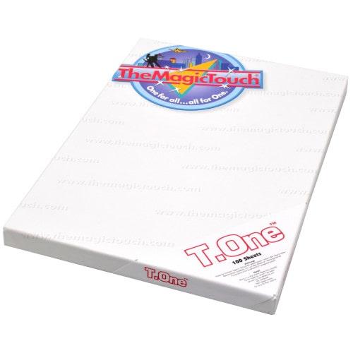 Бумага термотрансферная The Magic Touch T.One A4 для переноса  на белые и светлые ткани, 1 лист