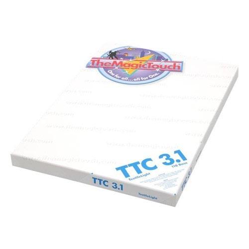 Бумага термотрансферная The Magic Touch TTC 3.1 А4 для светлых тканей, 100 л
