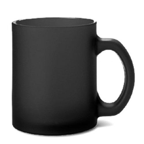 Кружка для термопереноса дымчато-черная хамелеон, B2GB