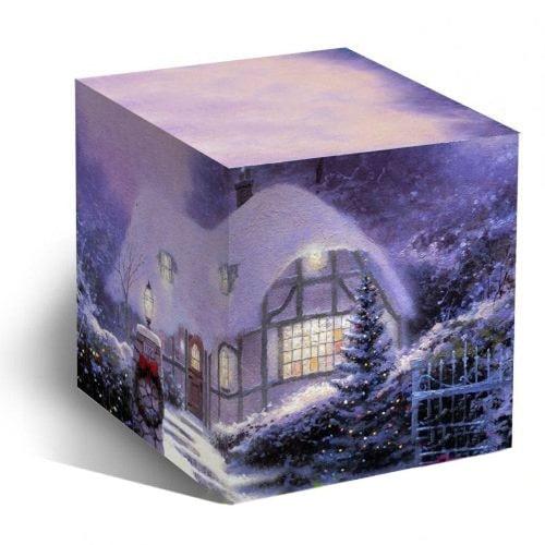 Коробка подарочная для кружки Новогодний домик