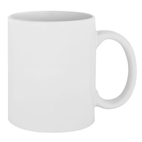 Кружка белая для сублимации 1 сорт 11oz без упаковки