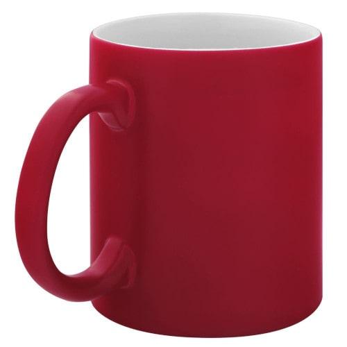 Кружка для сублимации красная хамелеон