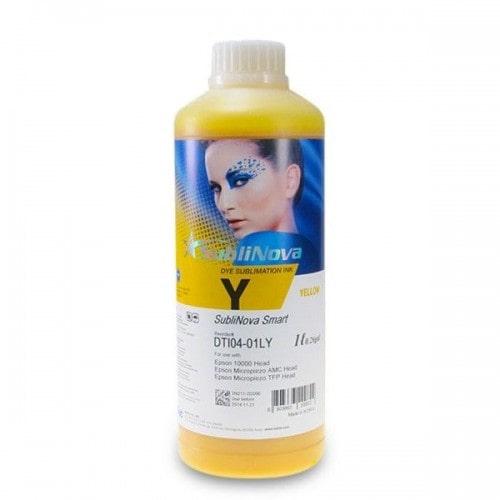 Чернила сублимационные InkTec Sublinova Smart Yellow, желтый, 1л