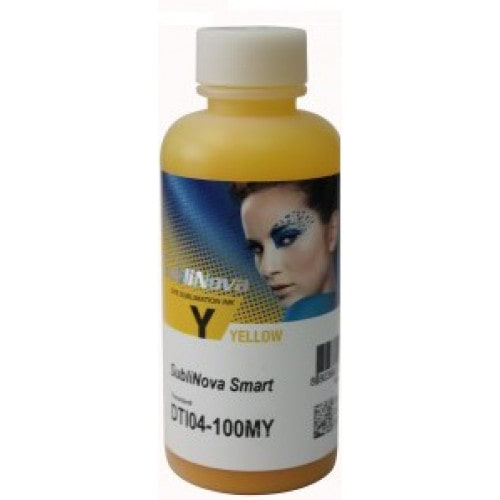 Чернила сублимационные IncTec SubliNova Yellow, желтые, 100мл