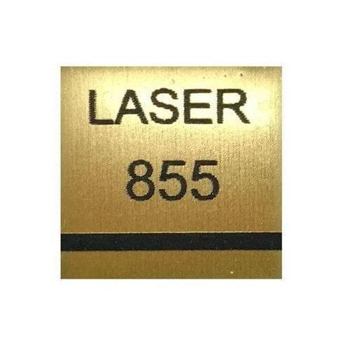 ABS-Пластик для лазерной гравировки AT-855, золото царапанное, 1200х600х1.5