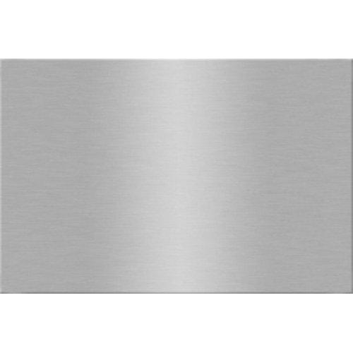 Металлические пластины для сублимации глянцевые серебро, 30.5х61 см