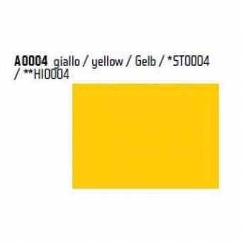 Пленка P.S.Film A0004 желтая, 1м, 0.50м