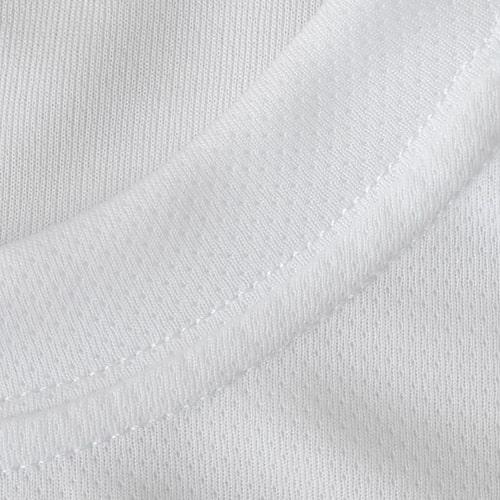 Футболка для сублимации ложная сетка женская белая, р. 50 (ХL)