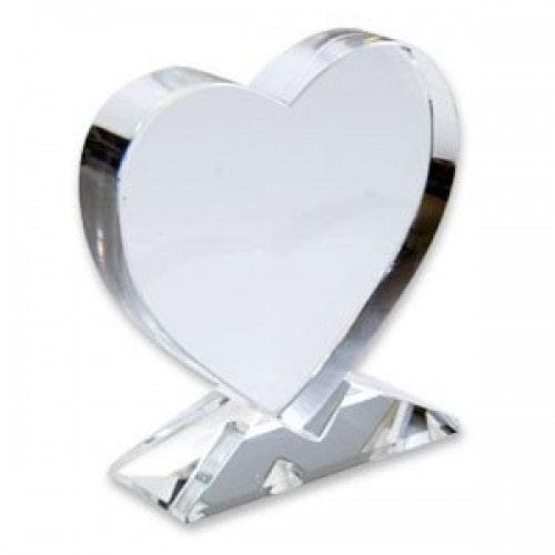 Заготовка УФ кристалла сердце