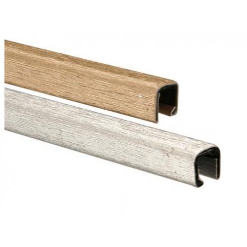Корешки МеталБинд с покрытием Techno 7 мм (до 60 листов) А5 217 серебро/10 шт
