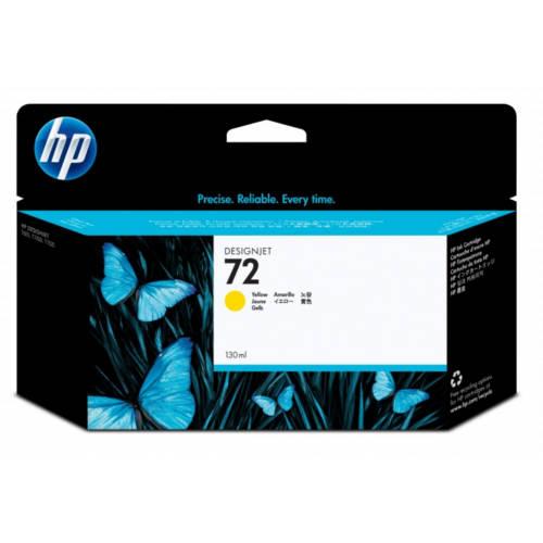 Картридж для HP Designjet T1100/T610 130-ml/72 Yellow, C9373A