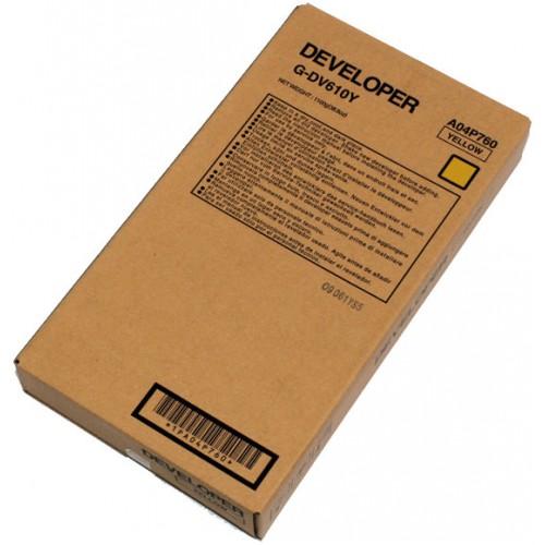 Девелопер Konica Minolta DV-512Y порошок, желтый