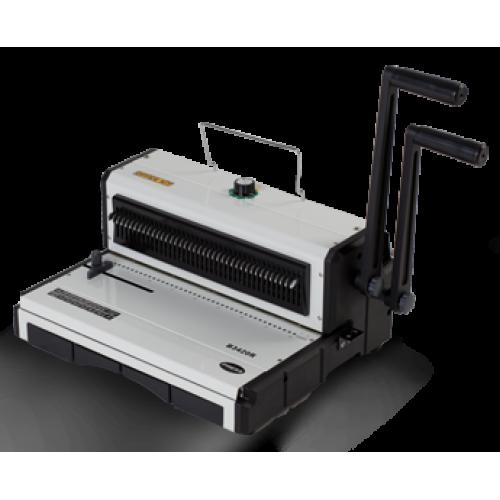 Брошюровщик на металлическую пружину Office Kit B3420R (кв.отверстия)