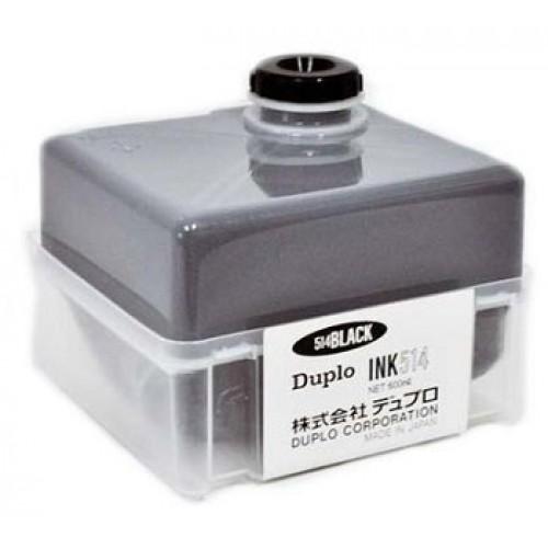 Краска DUPLO INK514 для дупликаторов DP 43/21/210, черная, 0.6л