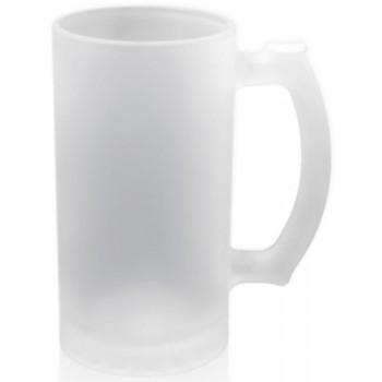 Кружка для сублимации пивная матовое стекло