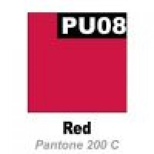 Термопленка  Promaflex PU 08  красный, 51 см х 25 м (Франция)