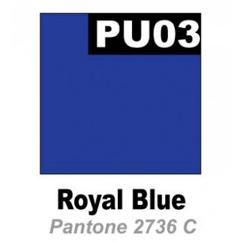 Термопленка  Promaflex PU 03 корол.синий,  0,51 см х 25 м