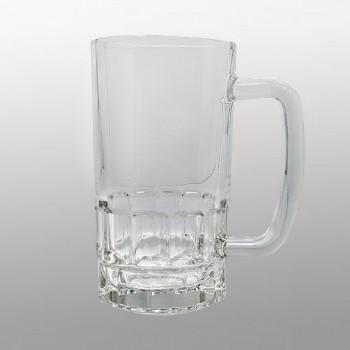 Кружка для сублимации пивная прозрачное стекло