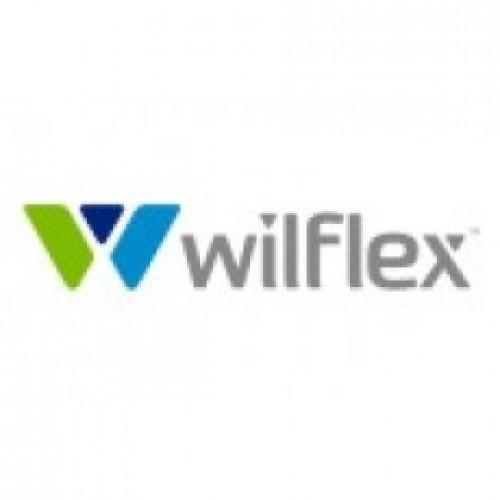 Краска  WILFLEX 43000PFX красная кроющая для печати по текстилю, 1кг