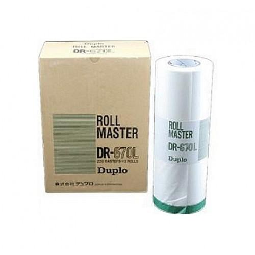 Мастер-пленка DUPLO 670L B4 для DP-205 (DUP90102)