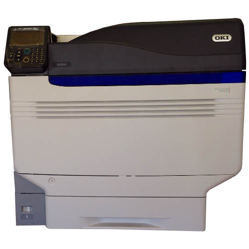 Принтер OKI ES9541DN Б/У в комплекте с белым и прозрачным тонером