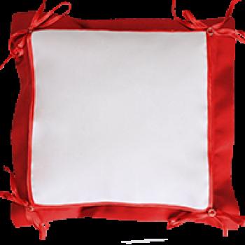 Подушка для сублимации 40х40 с пуговицами (салфетка 26х26)