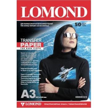 Бумага для струйного принтера для темных тканей Lomond (А3/50л) 0808325