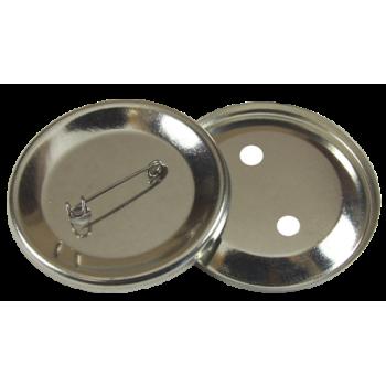Значки закатные, диаметр 56 мм, металл/булавка, 100 шт