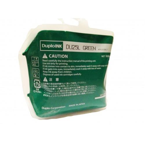 Краска зеленая DUPLO DU-25L, 1000 мл (DUP90146)