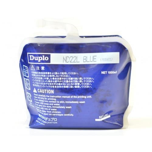 Краска DUPLO DU-22L, синяя, 1000 мл (DUP90156)