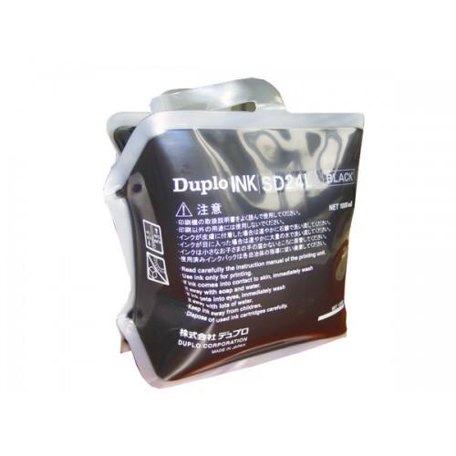 Краска черная DUPLO SD24L, 1000 мл (DUP90113)