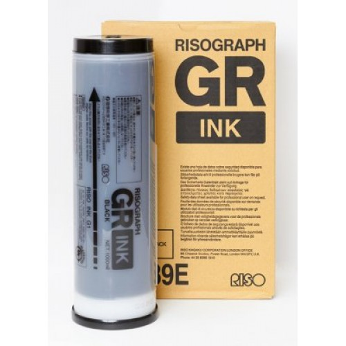 RISO Краска GR черная 1л