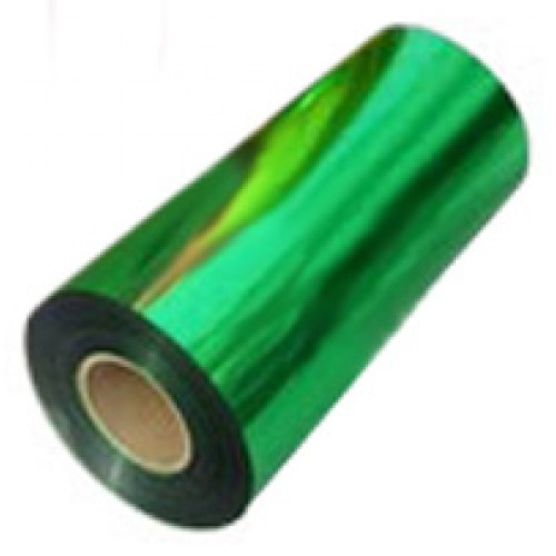 Фольга для тиснения, GREEN, по бумаге 0, 18м х 120