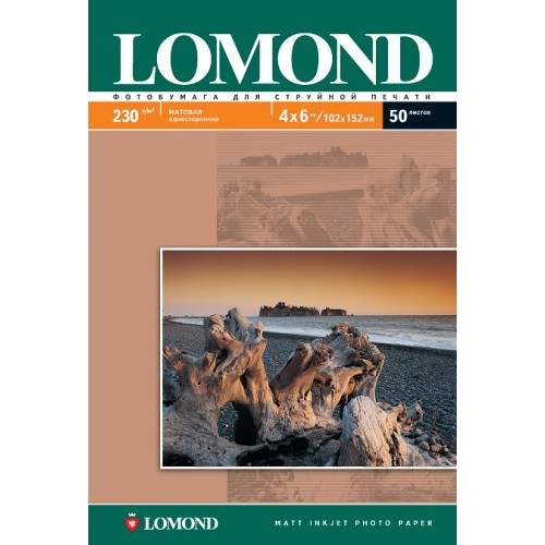 Бумага Lomond А3 односторонняя (230гр/А3/50л) МАТТ