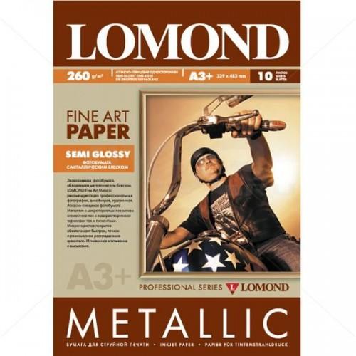Арт бумага Lomond Металлик атласно-глянцевая (260гр/А3/10л)