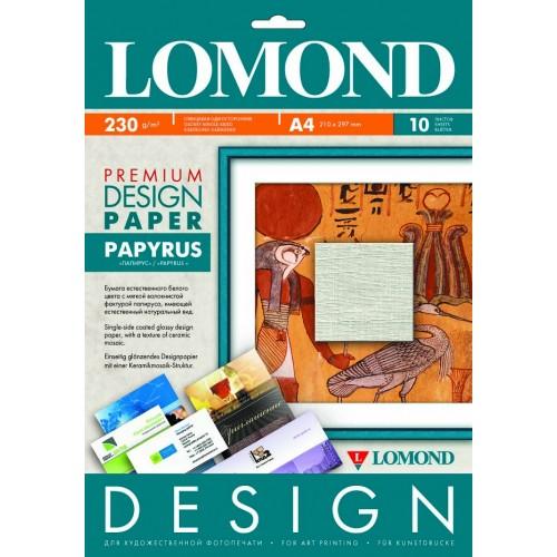 """Арт бумага Lomond """"Папирус"""" 230гр/А4/10листов"""