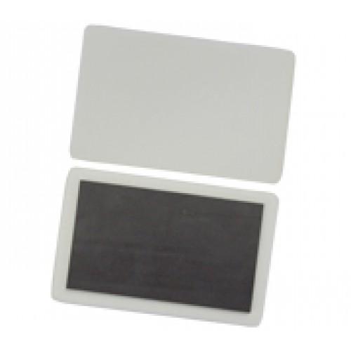 Фарфоровый магнит прямоугольный 5*8 для сублимации