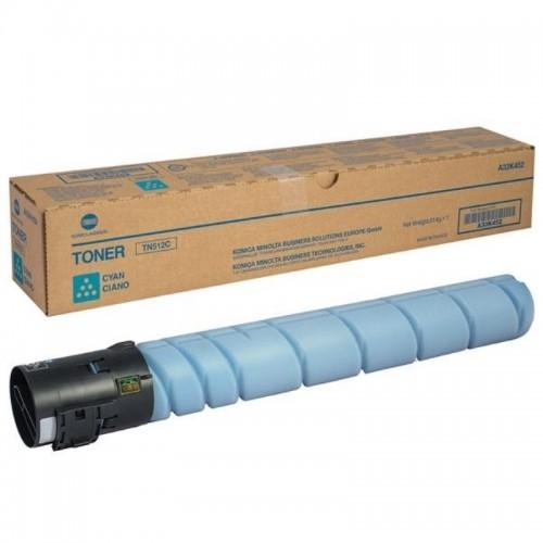 Тонер-картридж TN-512C (голубой ) для Konica Minolta bizhub С454/554