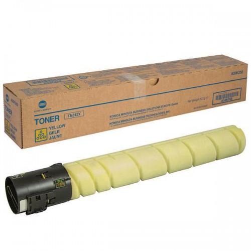 Тонер-картридж TN-512Y (желтый) для Konica Minolta bizhub С454/554