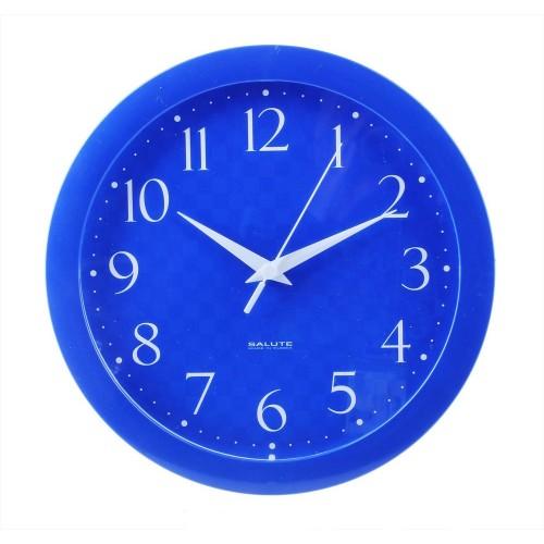 Часы настенные Vivid Large, синие, сборные, D 30, 5