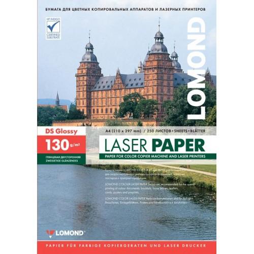 Бумага Lomond для лазерной печати (130гр/А4/250л/ГЛЯНЕЦ) двухстороняя