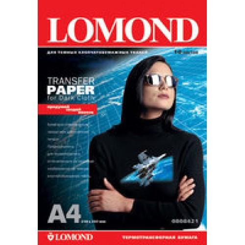 Бумага для струйного принтера для темных тканей Lomond (А4/50л)