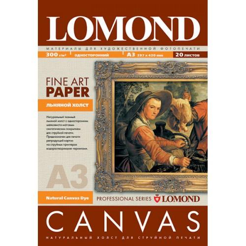 Бумага Lomond  «Холст», для струйной печати, А3/20л