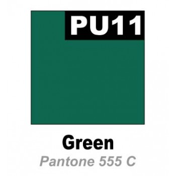 Термопленка  Promaflex PU 11 зеленый,  0,51 см х 25 м